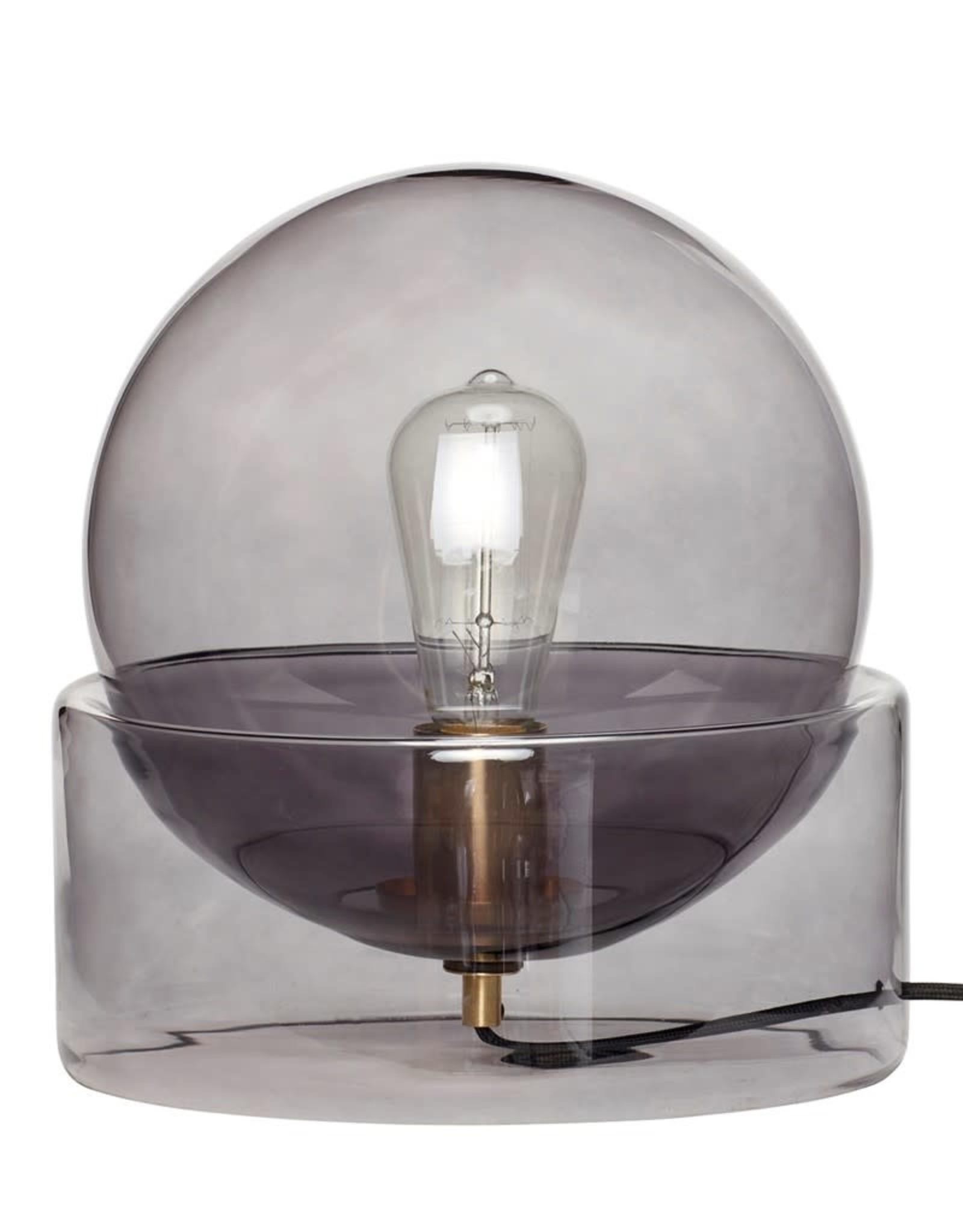 Hubsch Hubsch - Table lamp, glass smoke