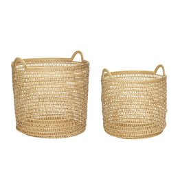 Hubsch Hubsch - Basket w/handle, rattan, nature S