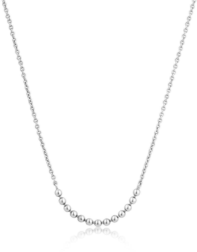 Ania Haie Ania Haie - Modern multiple balls necklace silver