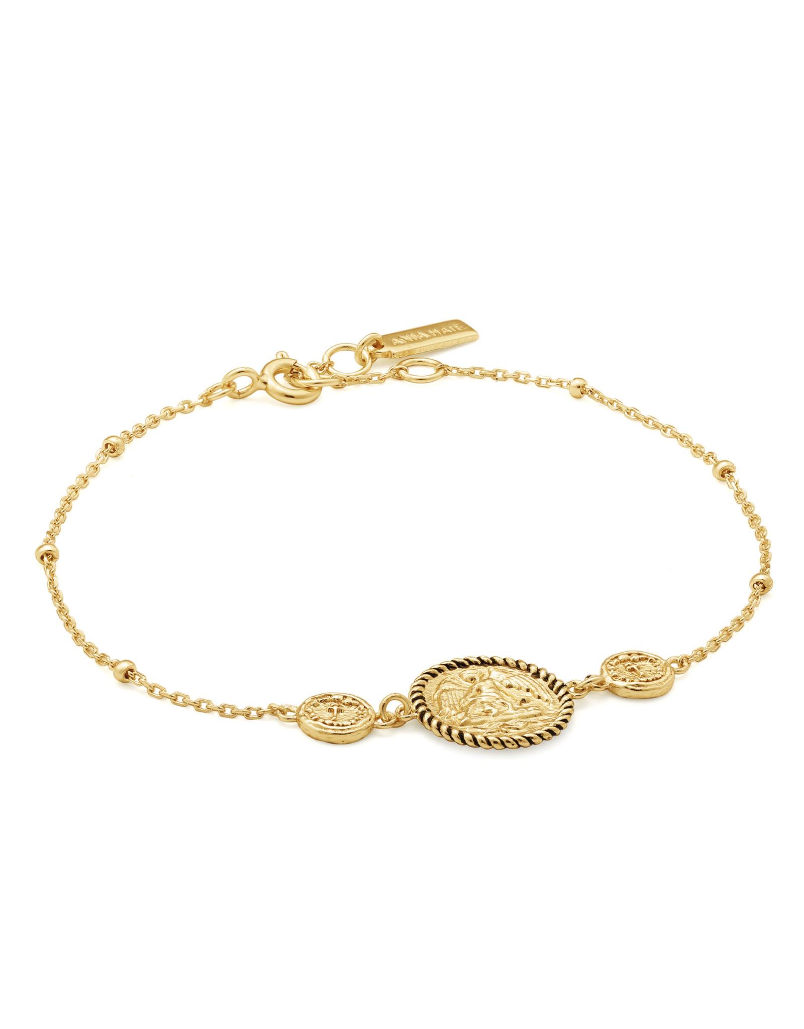 Ania Haie Ania haie - Winged goddess bracelet