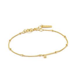 Ania Haie Ania Haie - shimmer single stud chain bracelet