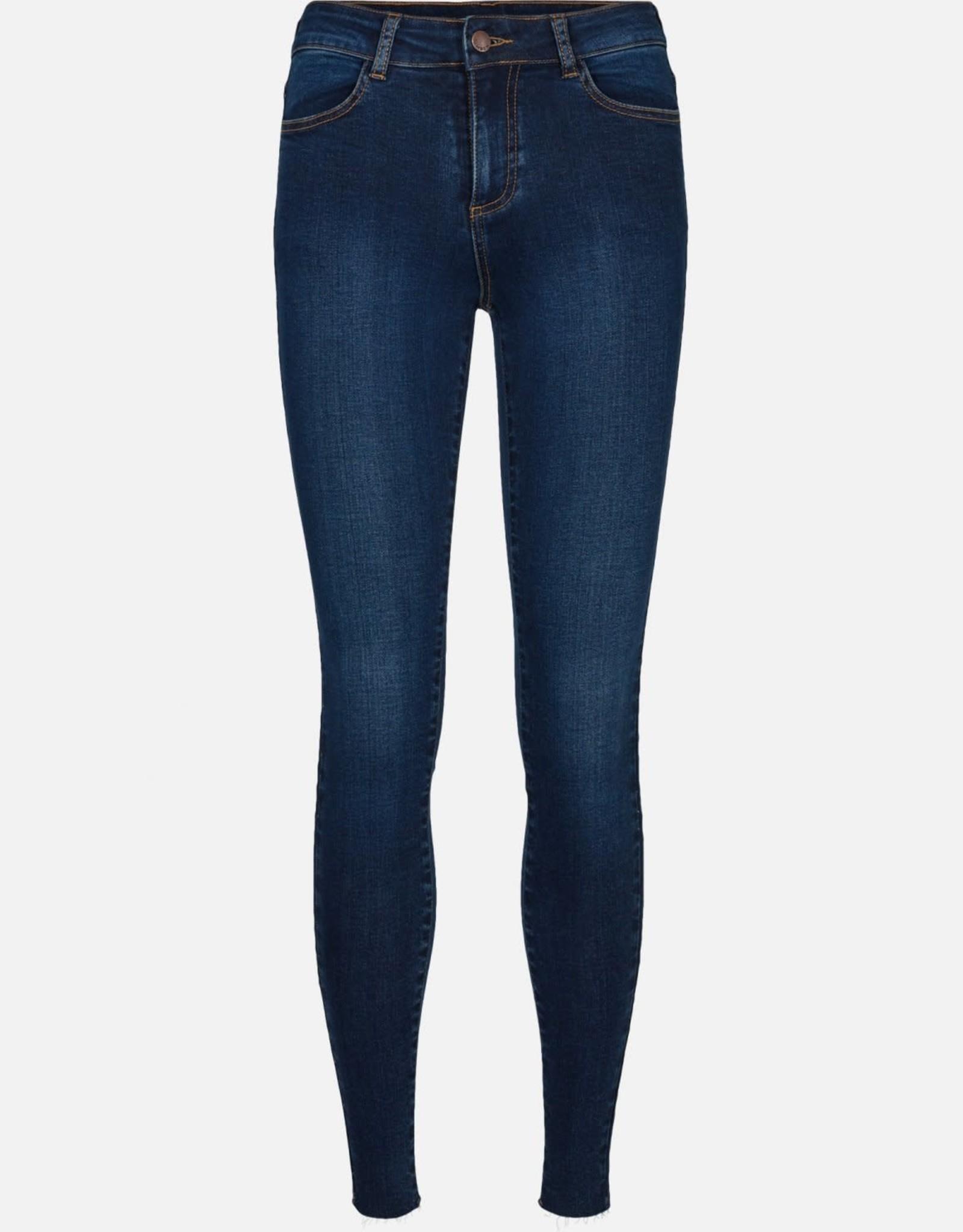 Moss Copenhagen MSCH - Petra Skinny jeans - Mid blue wash