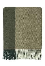 Malagoon Malagoon - Easy nature wool throw green