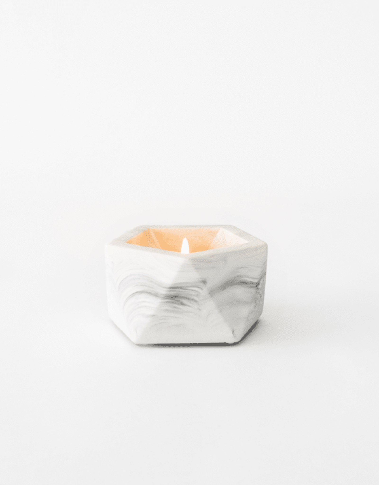House Raccoon House Raccoon - Vand Tealight holder - White marble