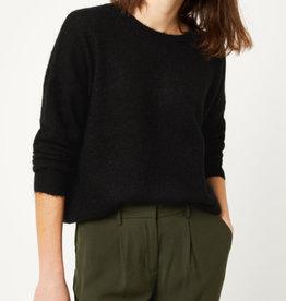 Moss Copenhagen MSCH - Femme Mohair O Pullover - Black XS/S