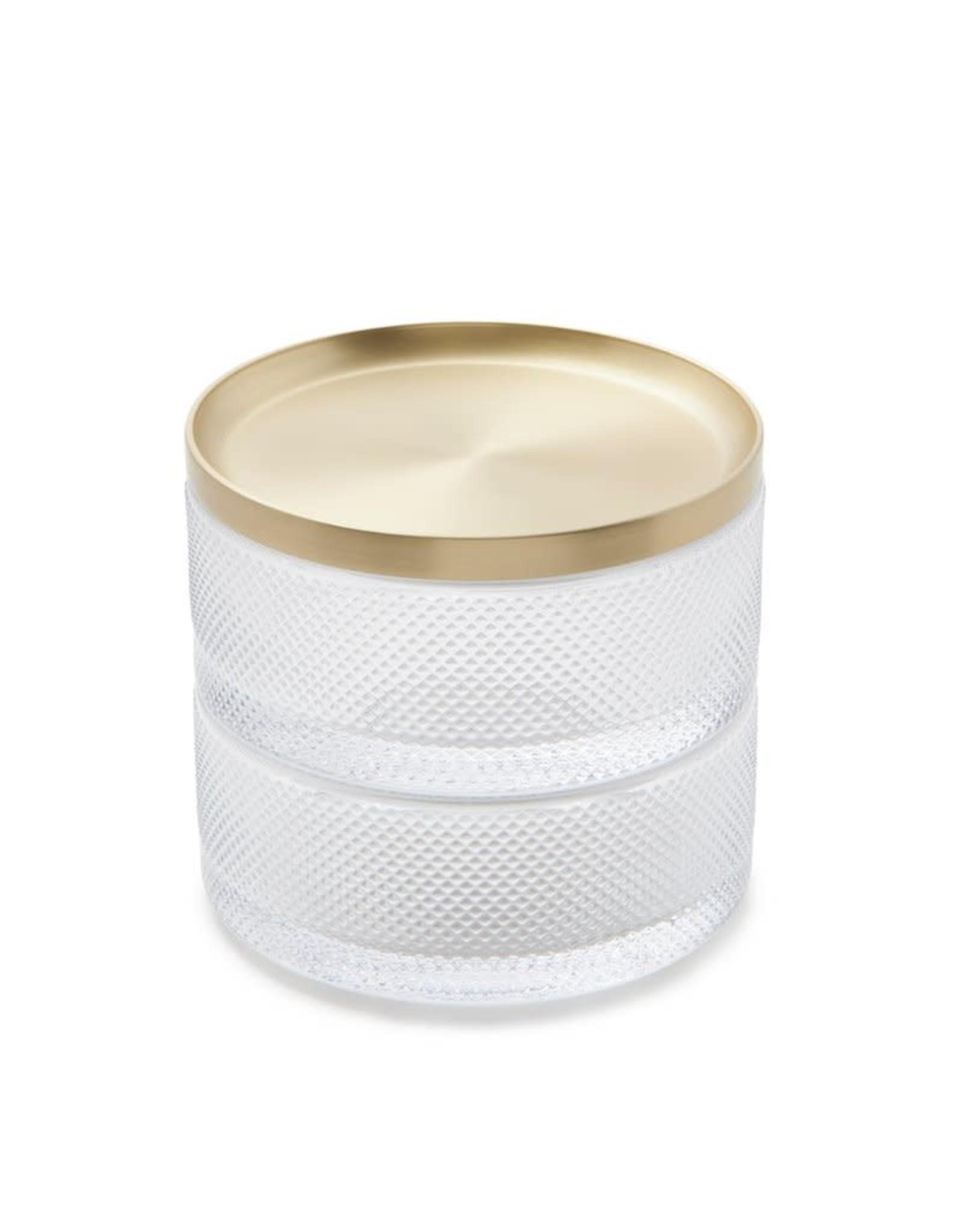 Umbra Umbra - Tesora Glass box brass