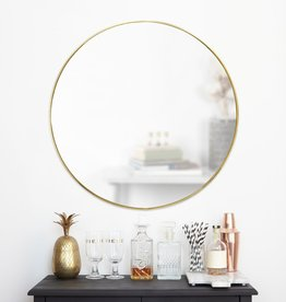 Umbra Umbra -  Hubba - Mirror Gold Brass large