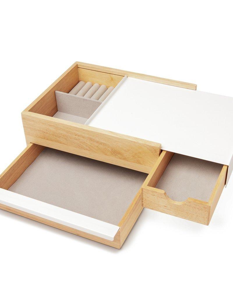 Umbra Umbra - Stowit storage box wht/nat