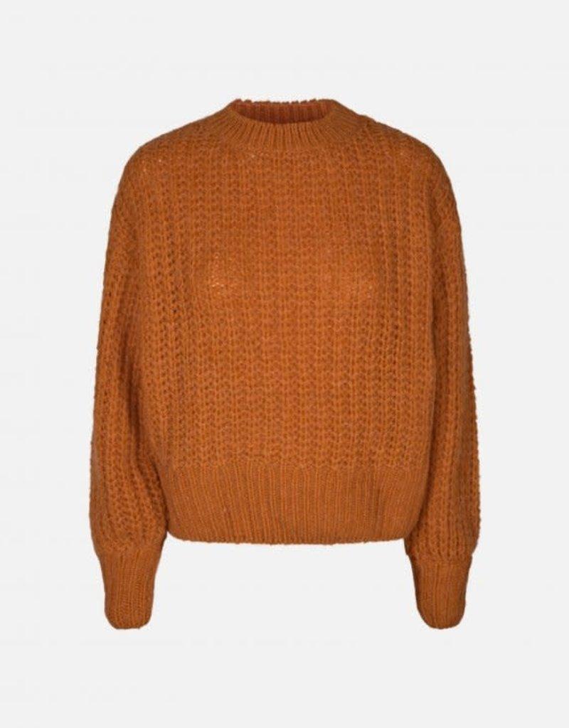 Moss Copenhagen MSCH - Heidi pullover, Marmalade