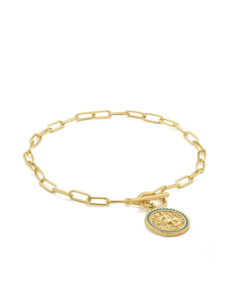 Ania Haie Ania Hiae - Emperor T-bar bracelet