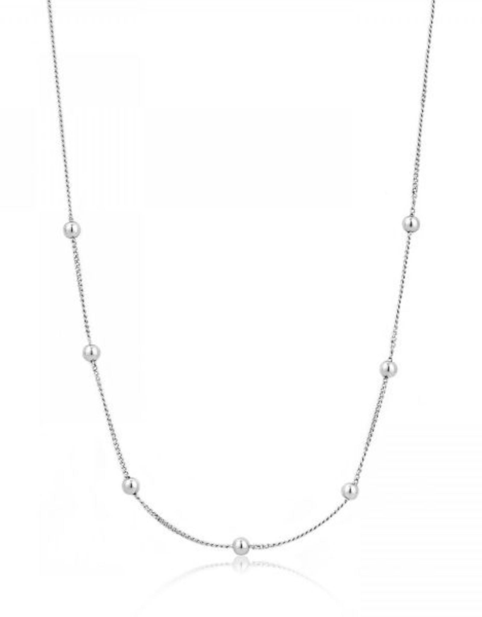 Ania Haie Ania Haie - Orbit beaded necklace Silver