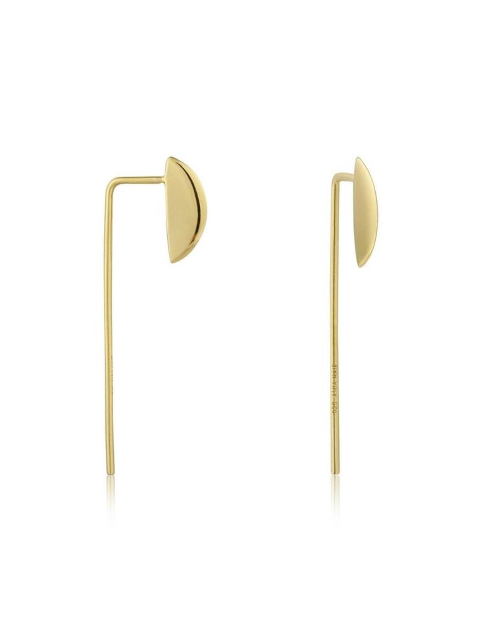 Ania Haie Ania Haie - Long post earring gold