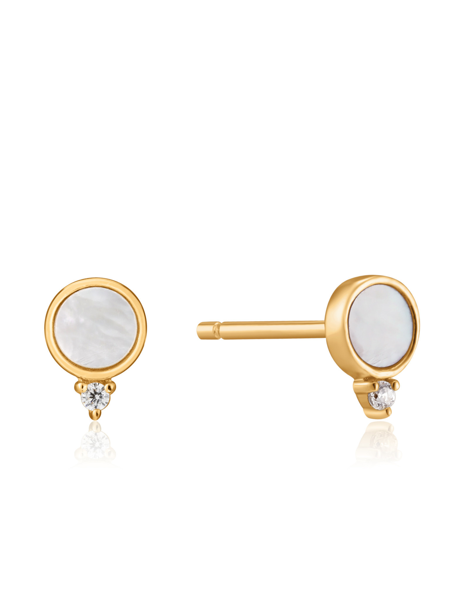 Ania Haie Ania Haie - Mother of pearl stud earrings