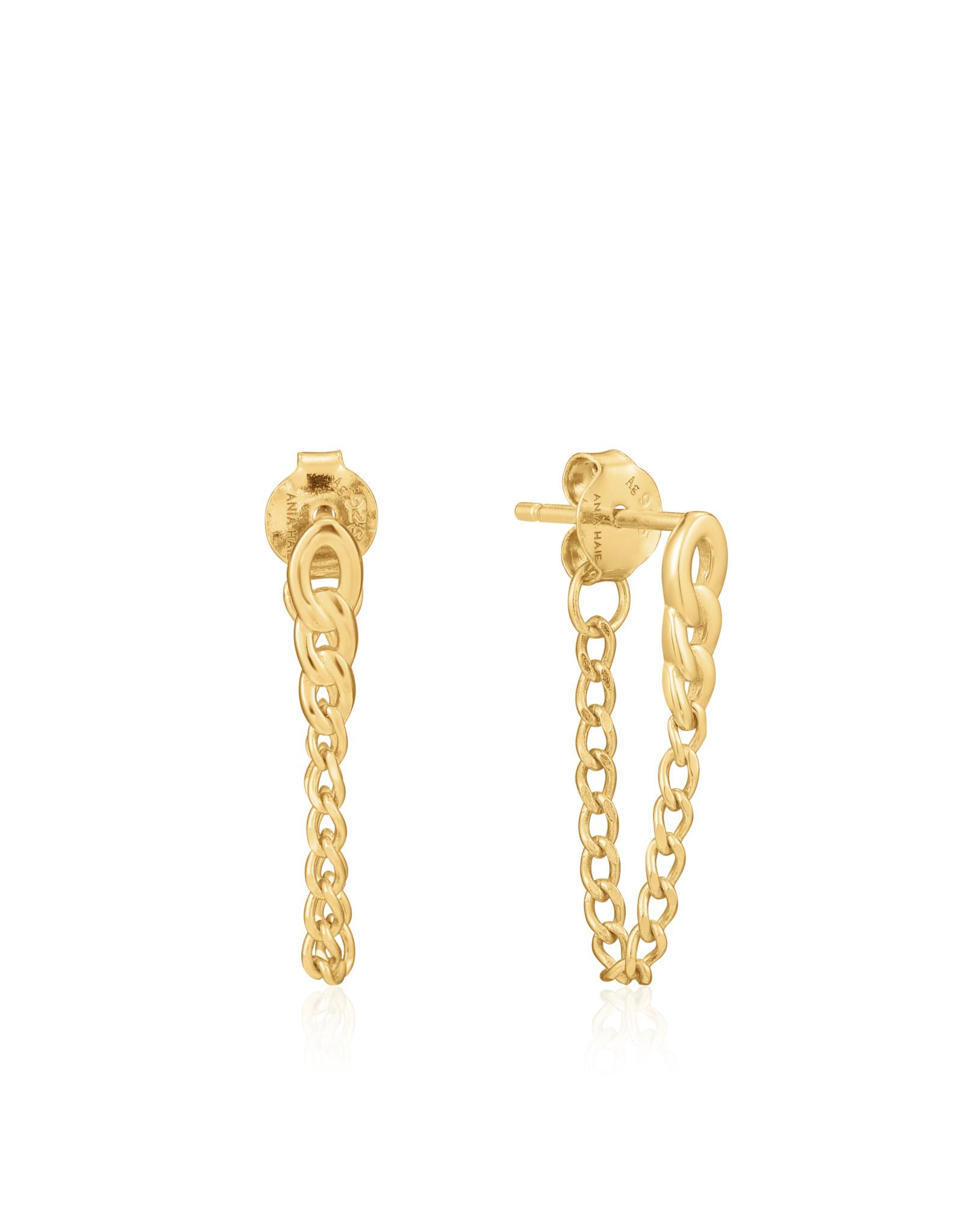 Ania Haie Ania Haie - Curb chain stud earrings