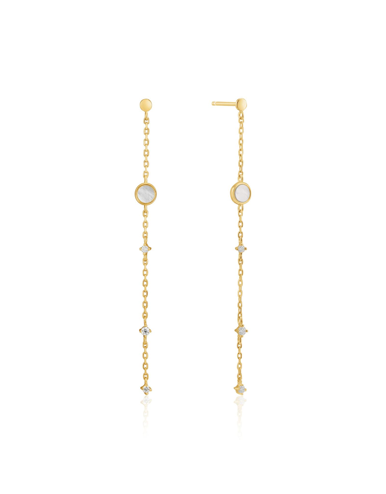 Ania Haie Ania Haie - Mother of pearl drop earrings