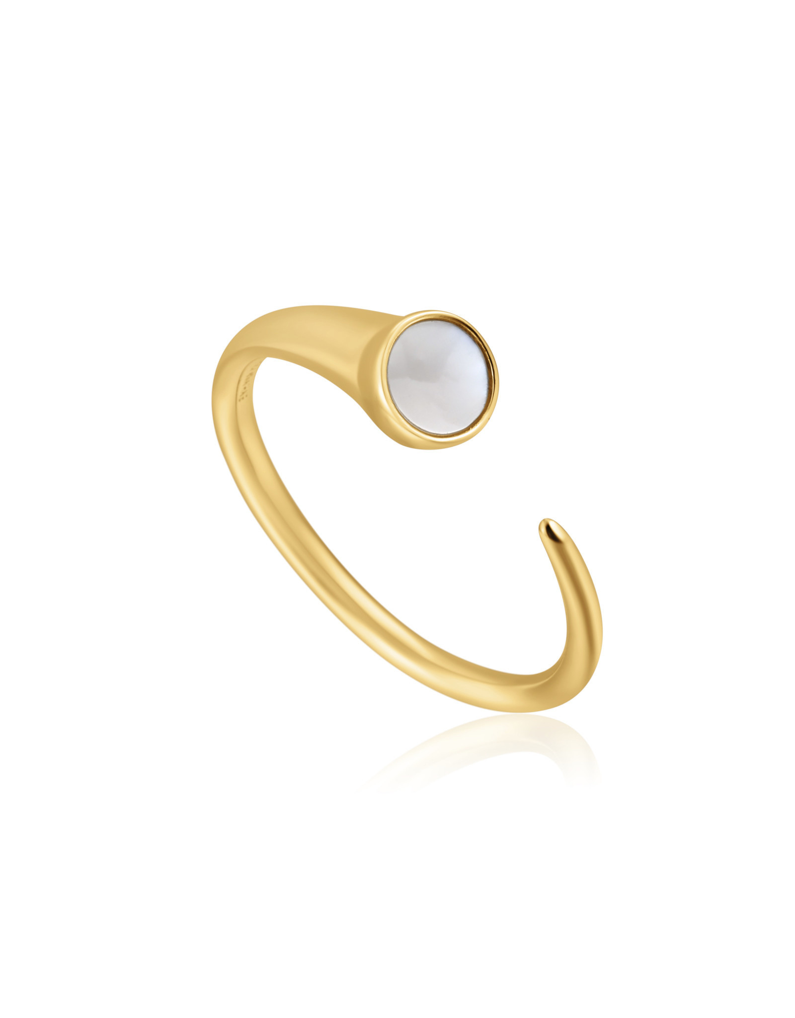 Ania Haie Ania Haie - Mother of pearl claw ring