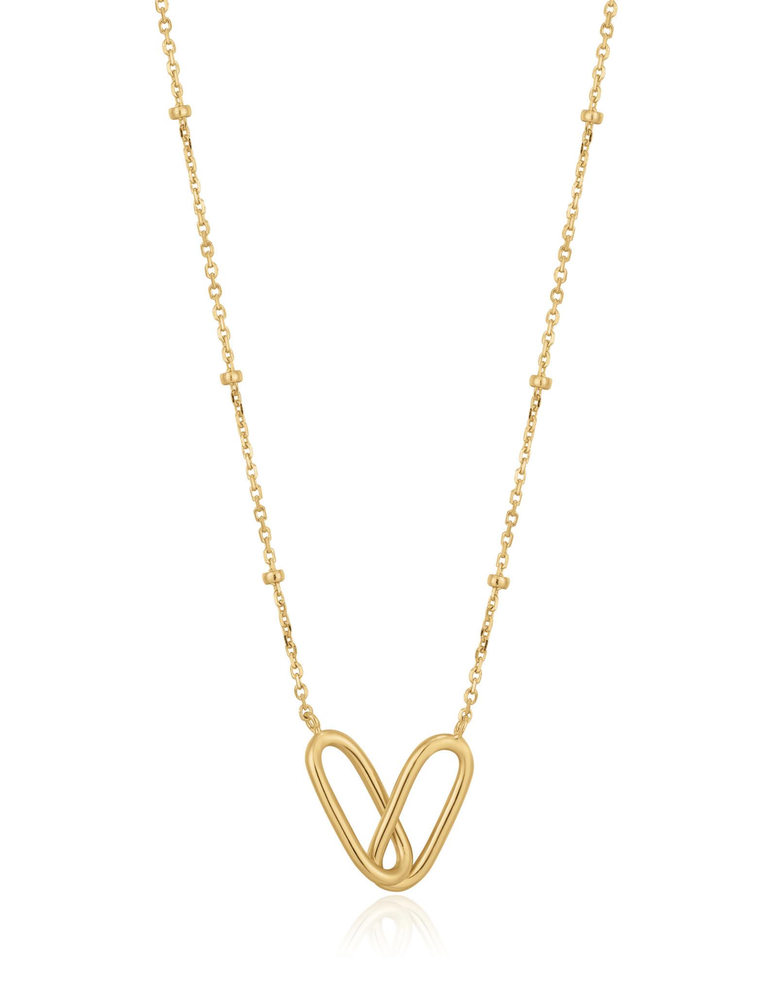 Ania Haie Ania Haie - Beaded chain link necklace