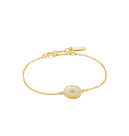 Ania Haie Ania Haie - Mother of pearl emblem bracelet