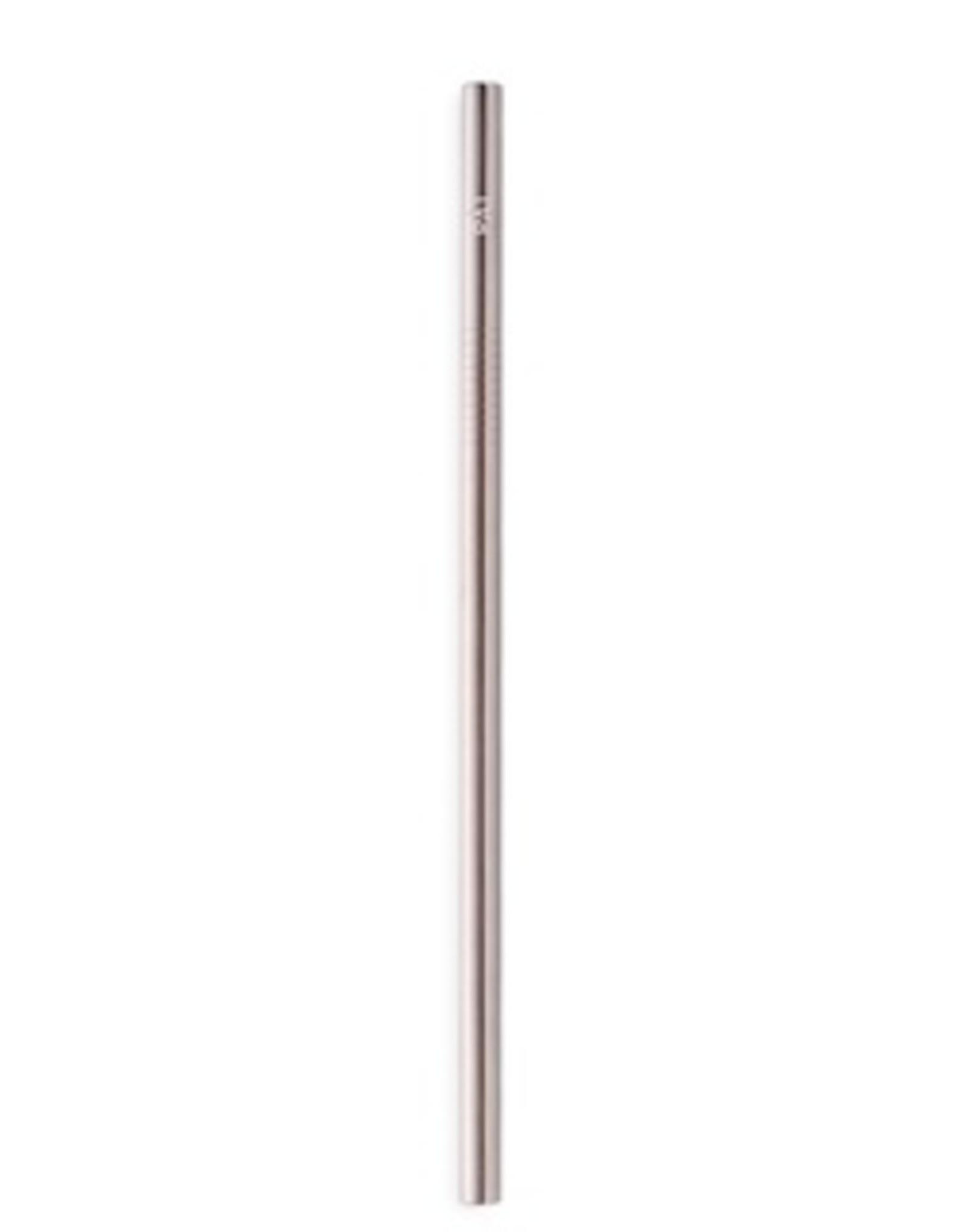 Pài Pài - Rietje zilver recht 8mm