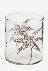 Madam Stoltz Madam Stoltz - Glass votive w/ cutting M