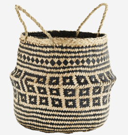 Madam Stoltz Madam Stoltz - Seagrass basket L