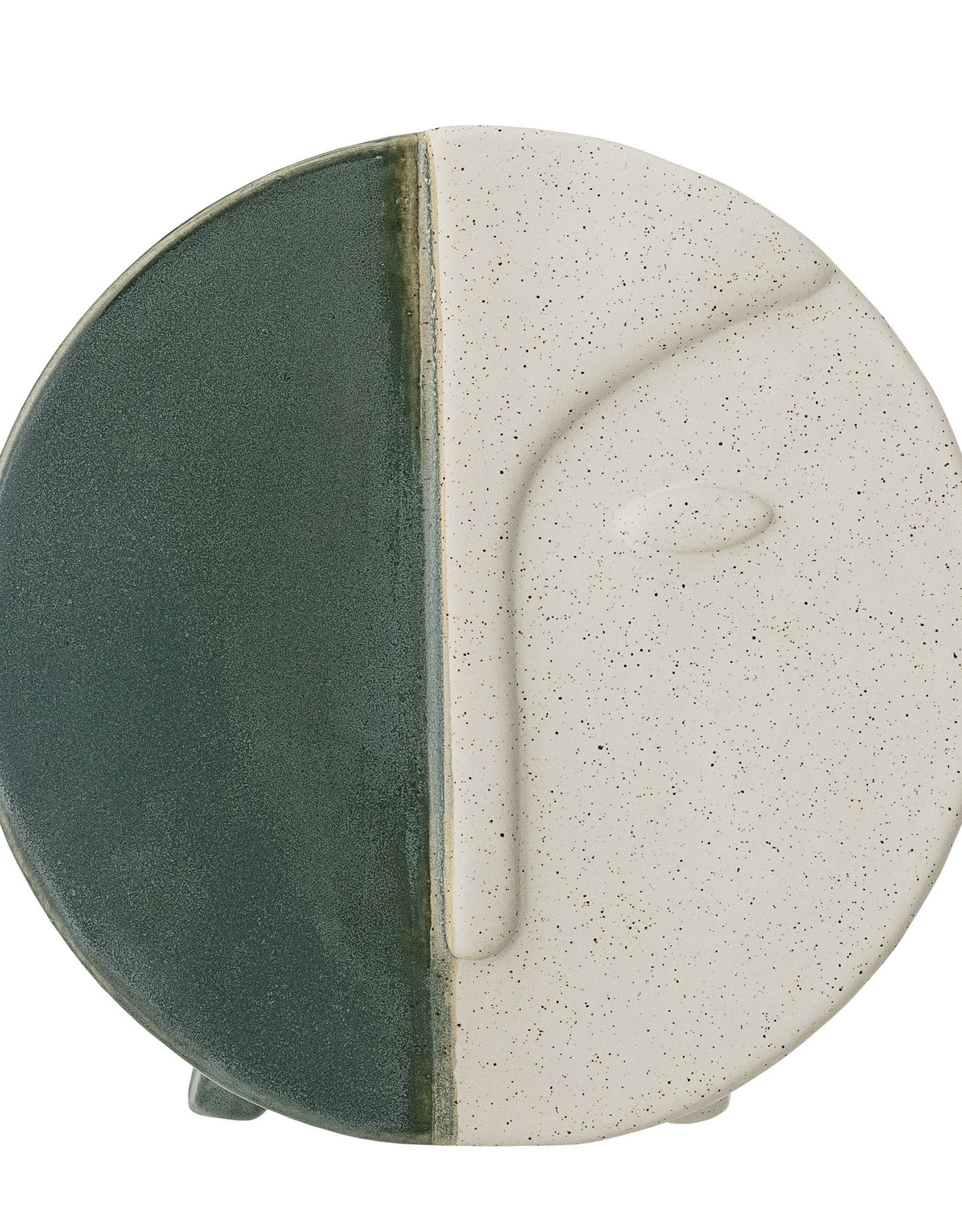 Bloomingville Bloomingville - Wall vase green stoneware