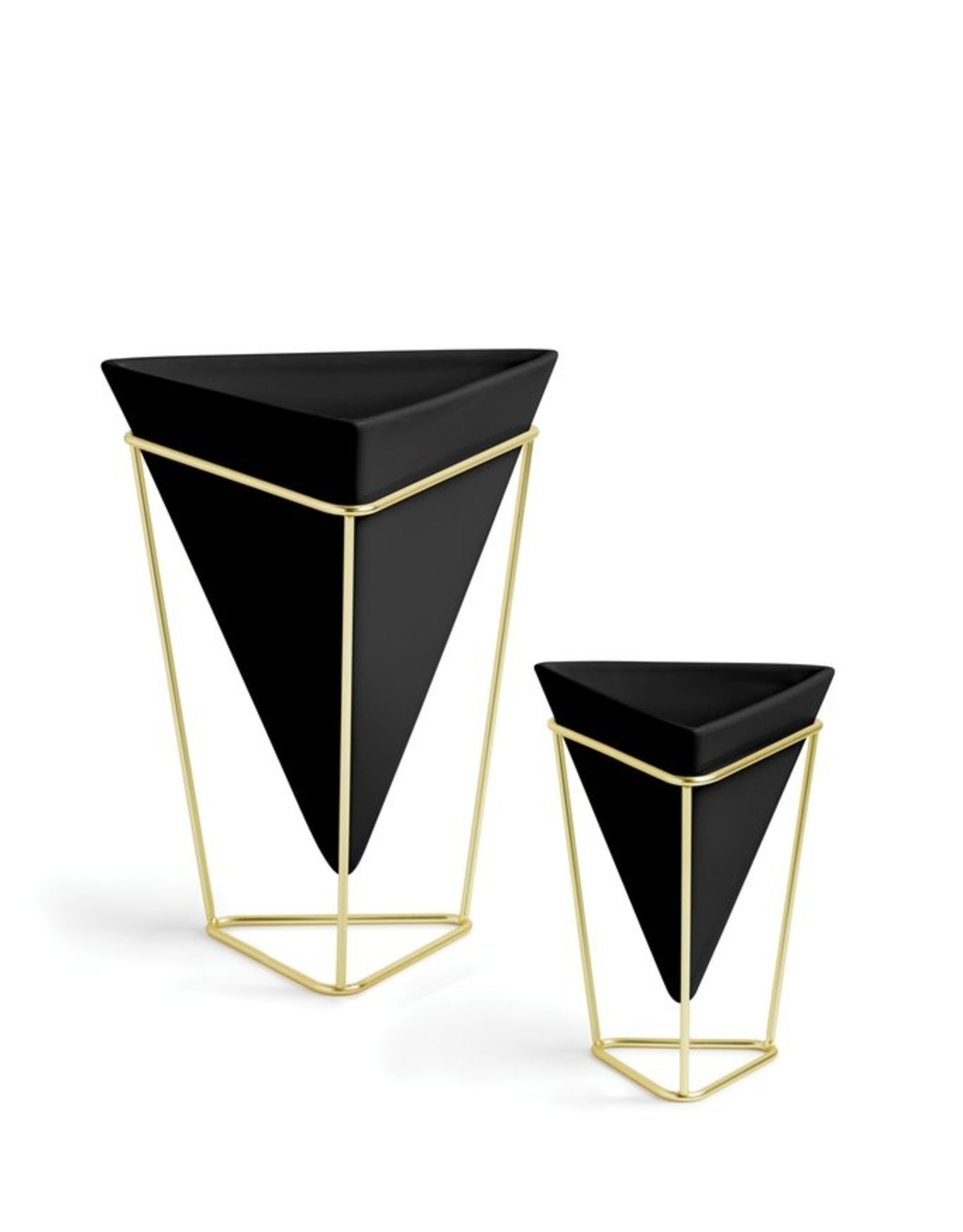 Umbra Umbra-Trigg desk set Black - brass