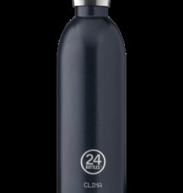 24 Bottles 24 Bottles - Clima bottle Rustic Blue - 850 ml