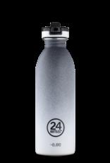 24 Bottles 24 Bottles - Urban bottle Tempo grey - sport lid 500ml