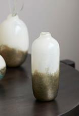 House Doctor House Doctor - Vase earth beige/metallic lang