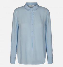 Moss Copenhagen MSCH - Caddy beach LS shirt cashmere blue