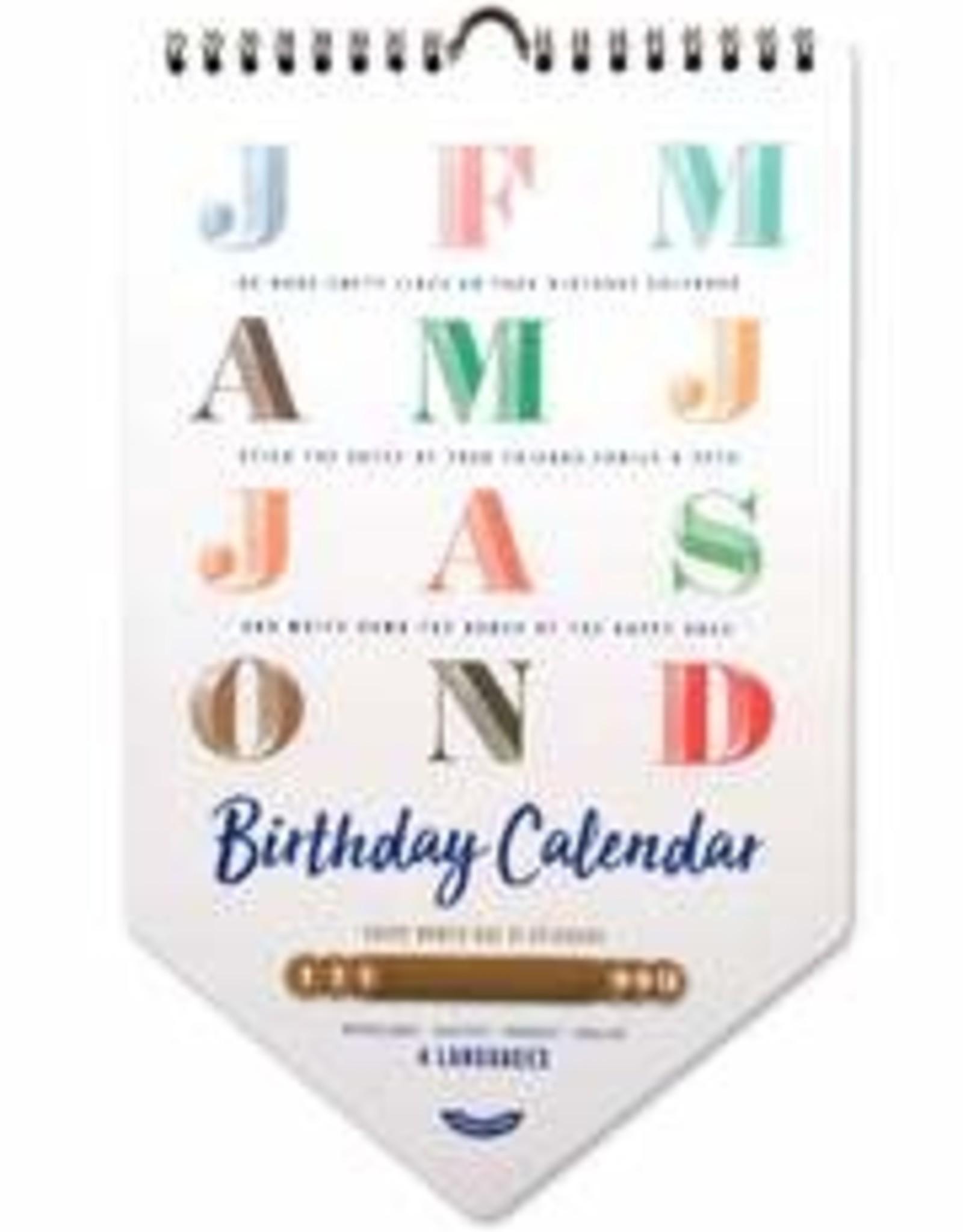 Stratier Stratier - Birthday Calendar