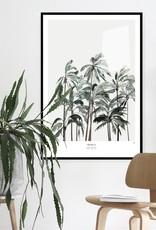My deer art shop My deer art - Palms II - 40x50