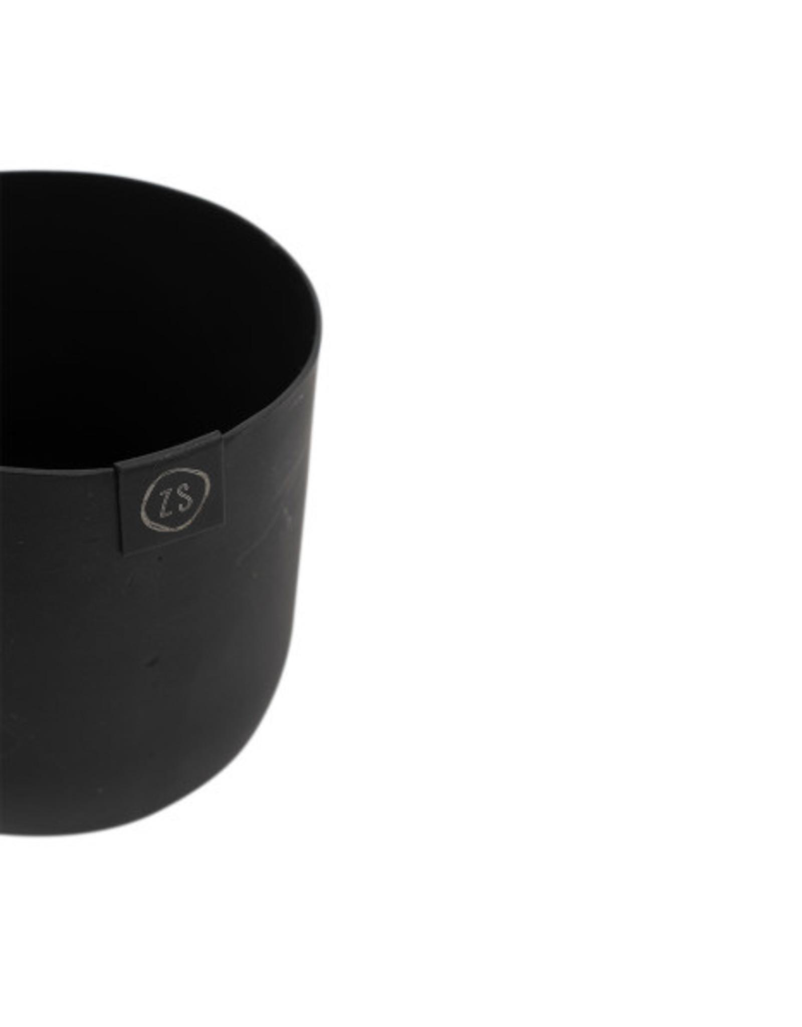 Zusss Zusss - Potje metaal 8cm zwart