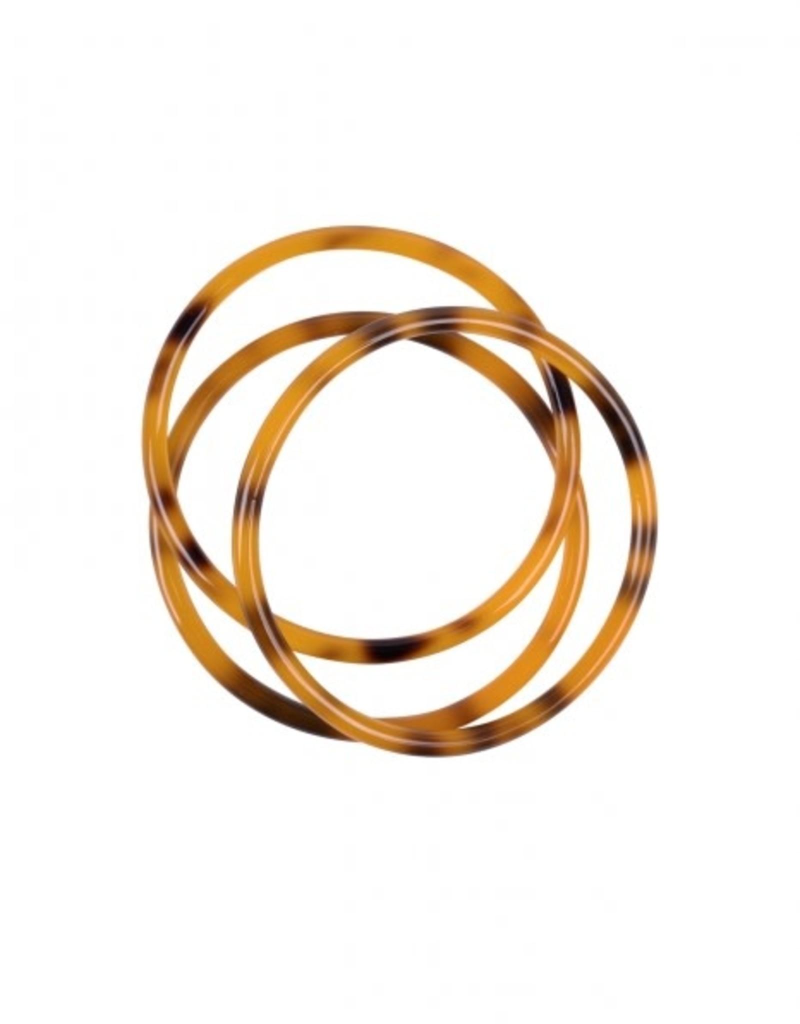 Zusss Zusss - Set armbanden hoornlook oranje
