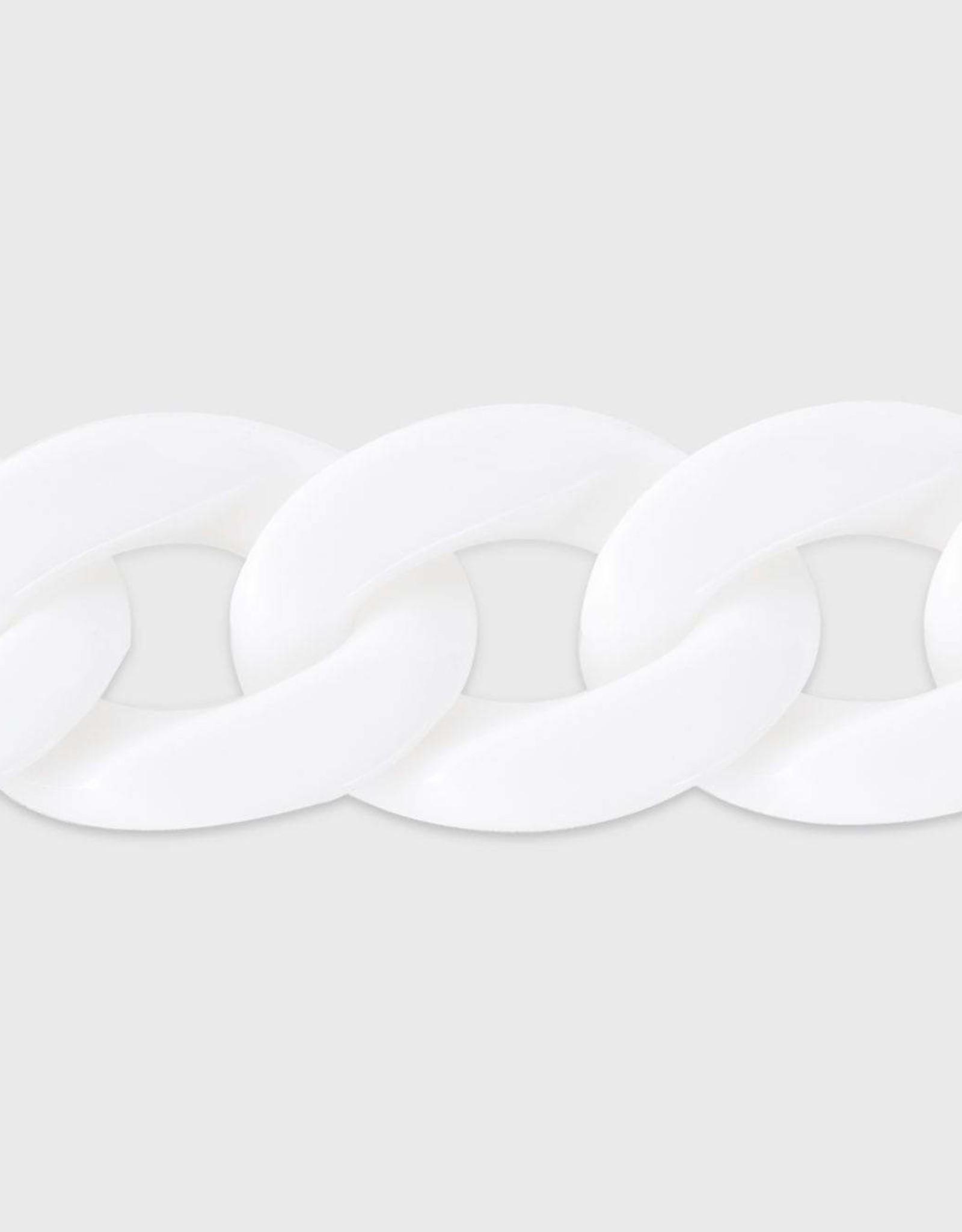 Komono Komono - Zonnebril-ketting - Brooks white