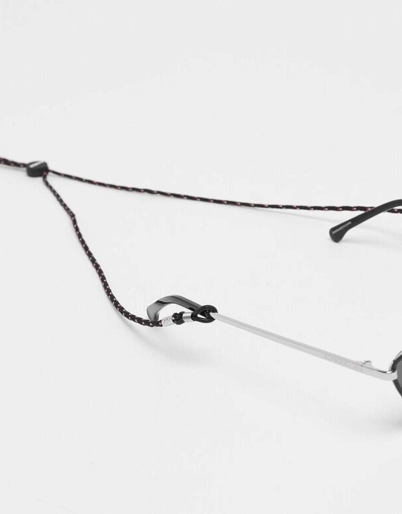 Komono Komono - Zonnebril-ketting - Hyper black