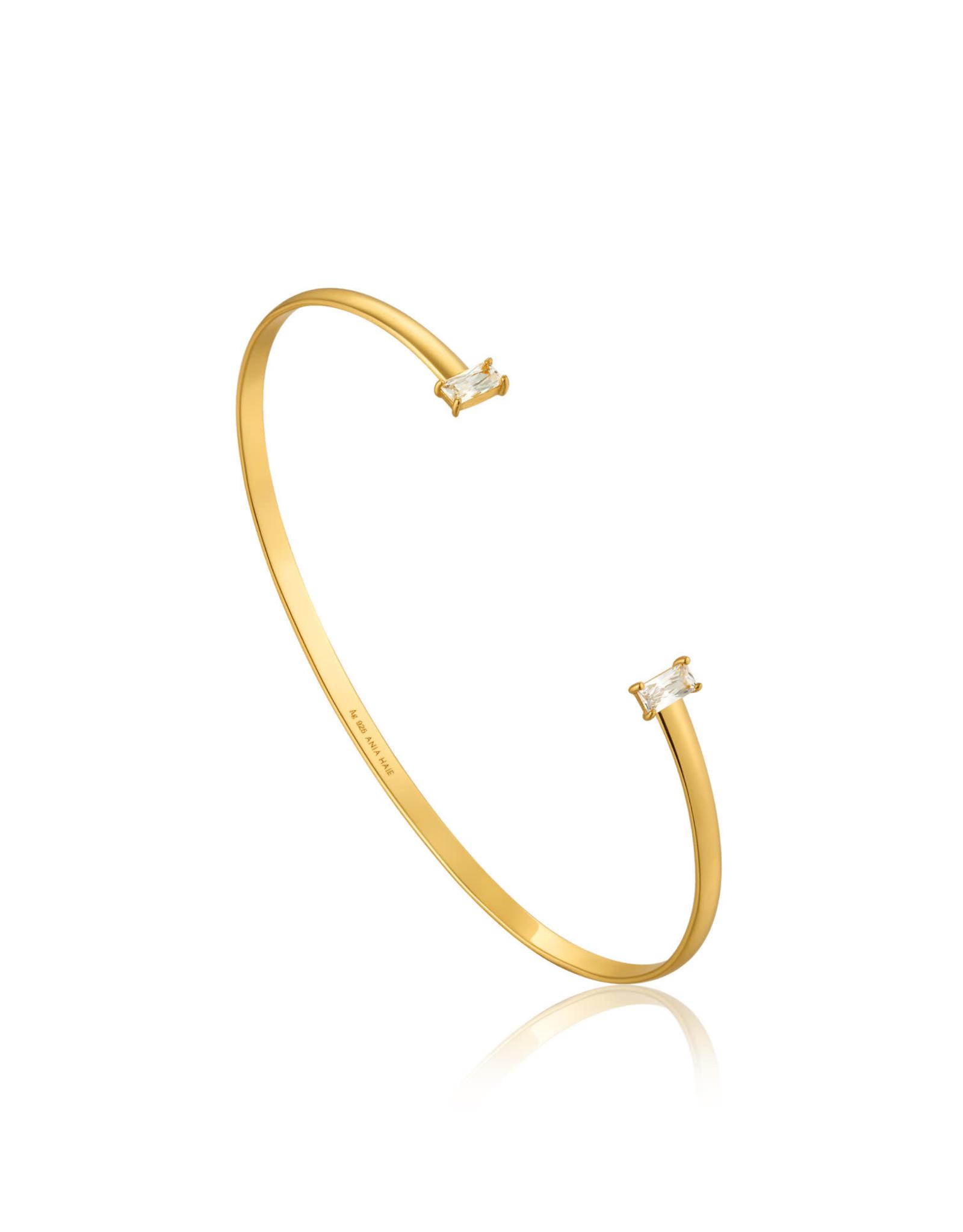 Ania Haie Ania Haie - Glow cuff gold