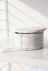 House Raccoon House Raccoon - Dosa storage box - white marble