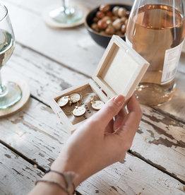 Zusss Zusss - set van 6 wijnglas hangers