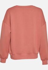 Moss Copenhagen MSCH - Ima Sweatshirt brick dust
