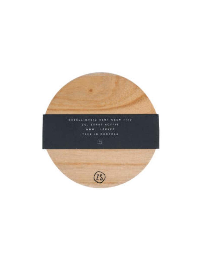 Zusss Zusss - set van 4 onderzetters hout