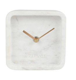 Zuiver Zuiver - Marble clock - white