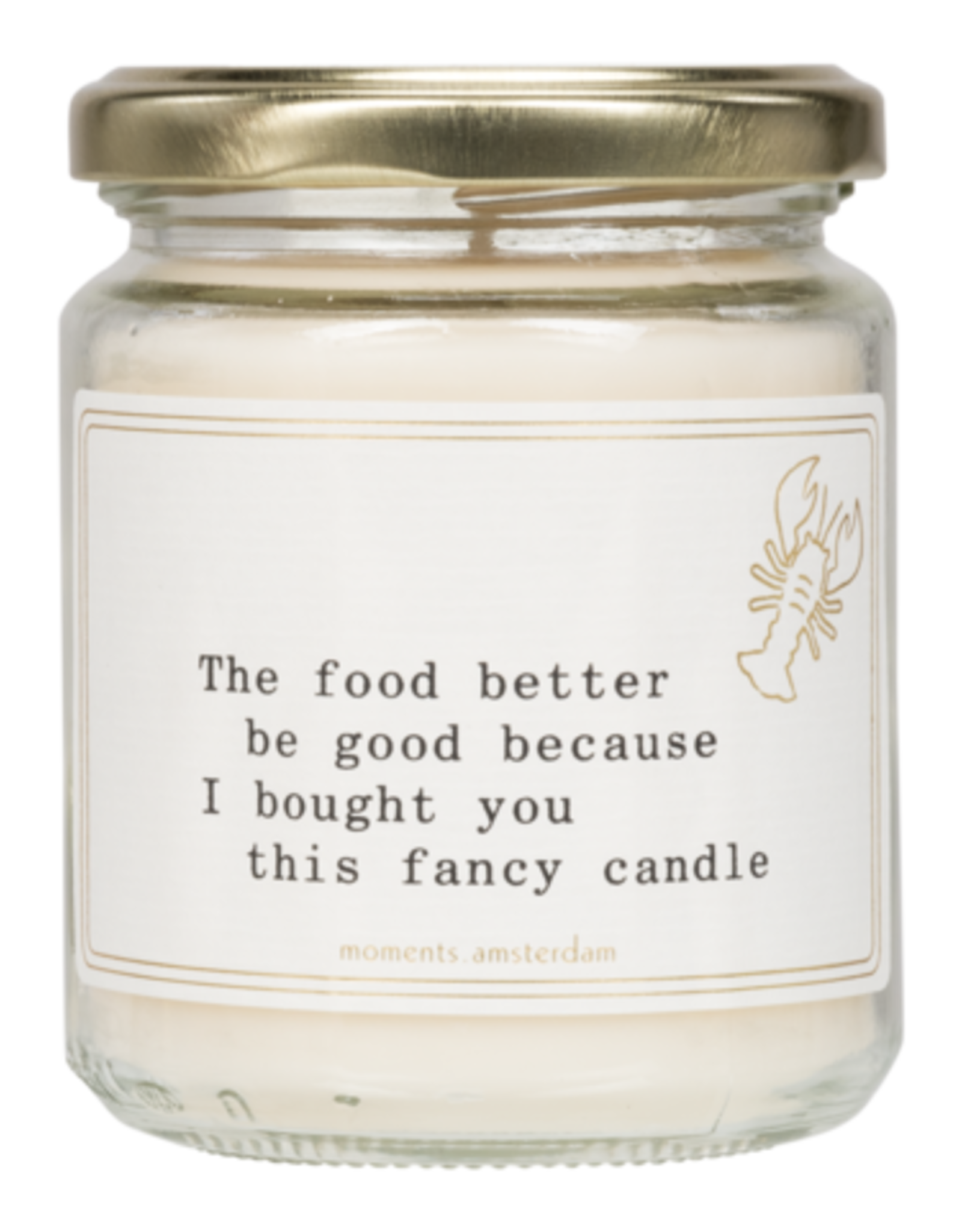 Moments - Little Candle - Fancy dinner