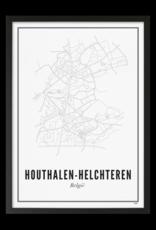 Wijck Wijck - prints - 50x70 - Houthalen - Helchteren