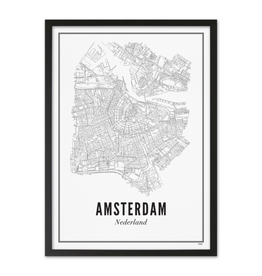 Wijck Wijck - prints - 40x50 - Amsterdam