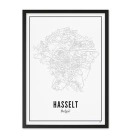 Wijck Wijck - prints - 50x70 - Hasselt