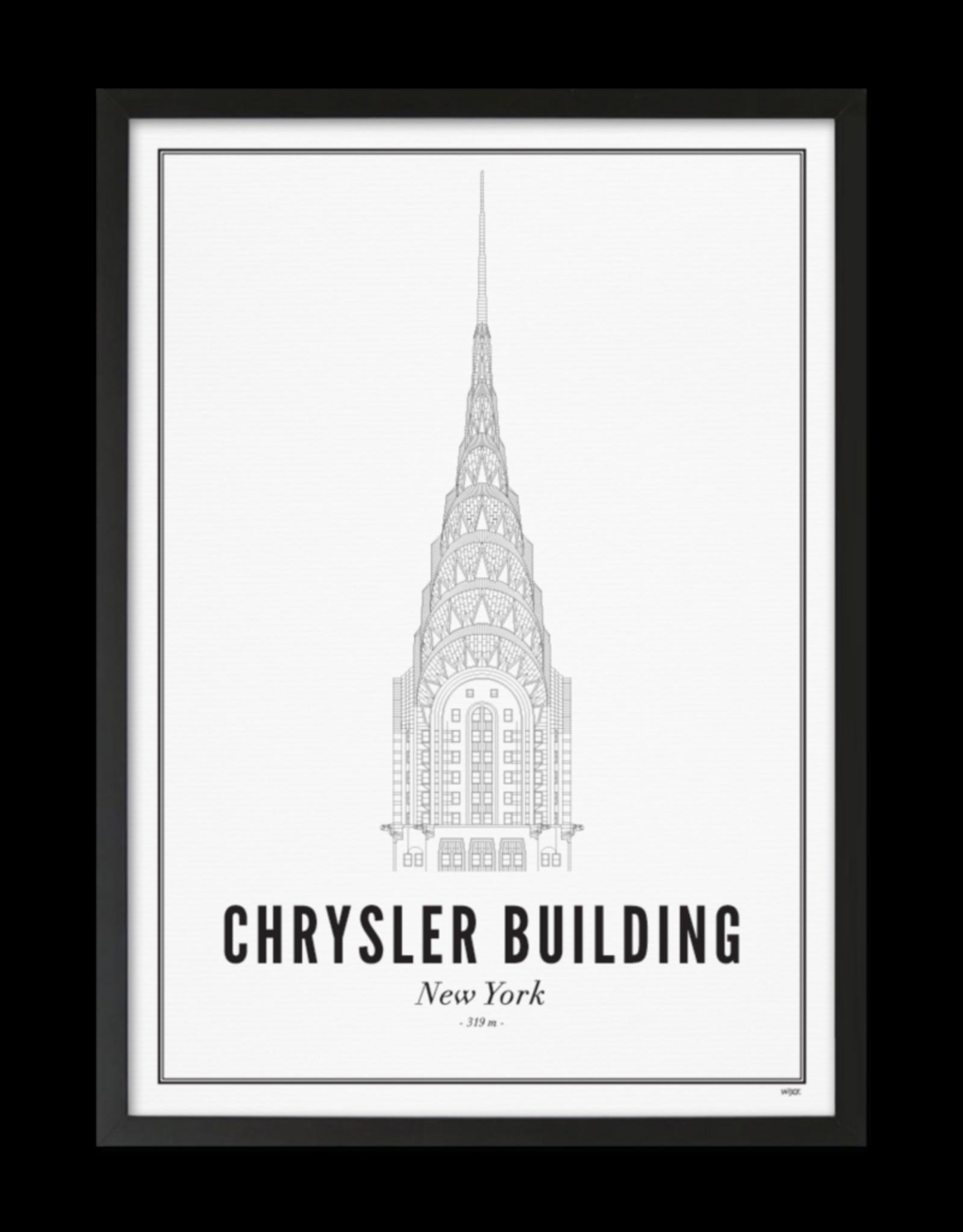 Wijck Wijck - prints - 30x40 - New York Chrysler building