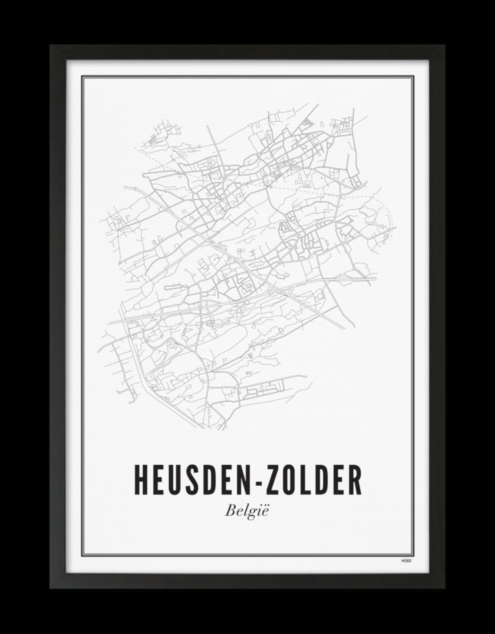 Wijck Wijck - prints - 40x50 - Heusden-Zolder