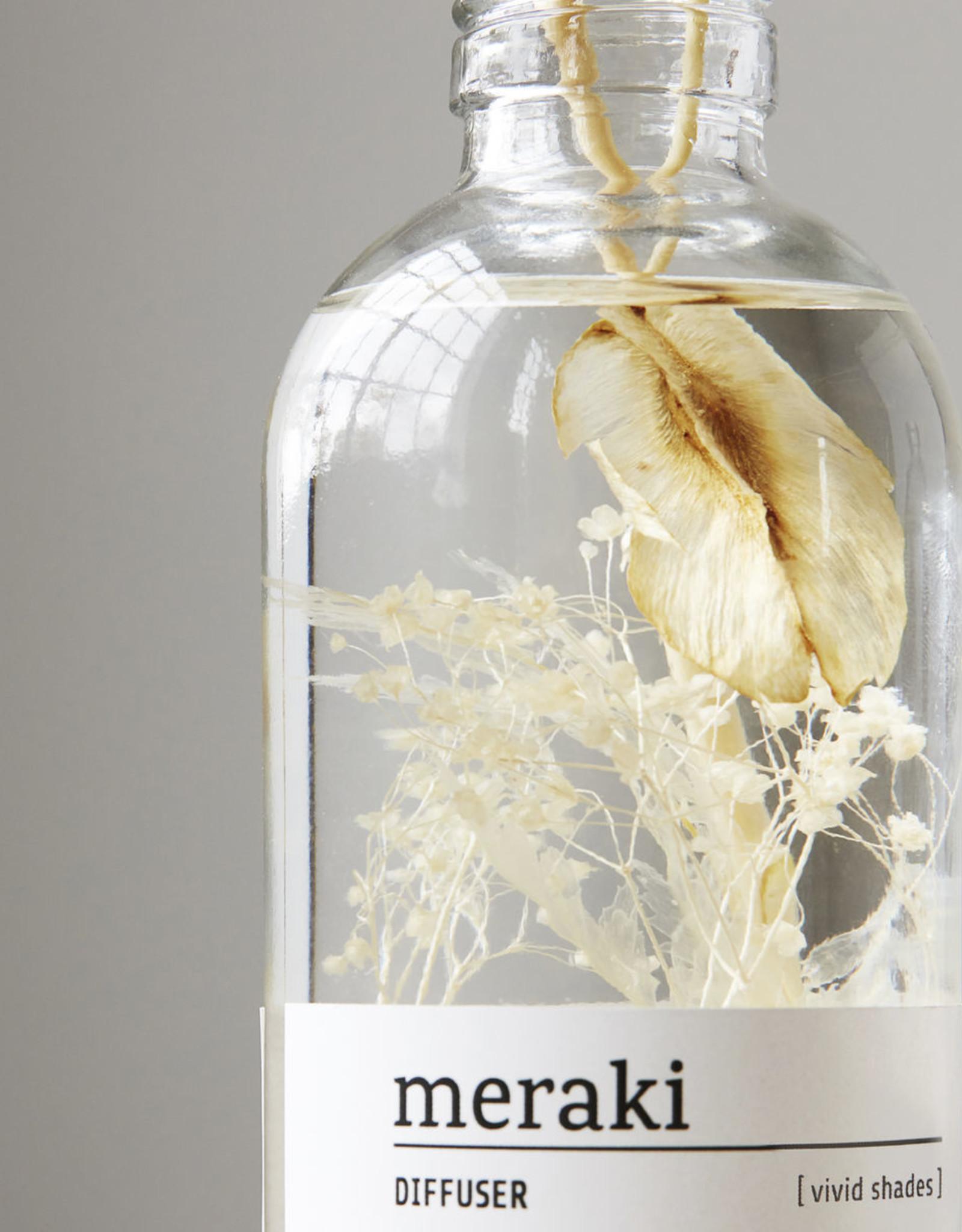 Meraki Meraki - diffuser, Vivid shades